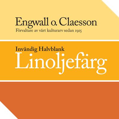 Engwall o. Claesson - Invändig Linoljefärg