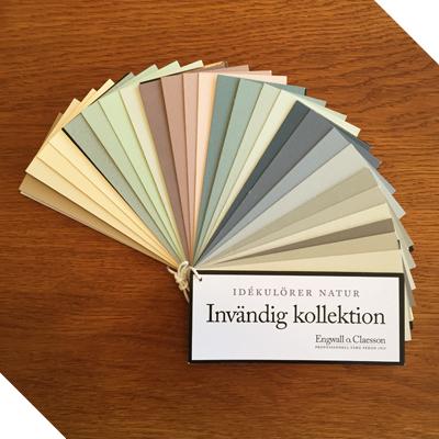 Linoljefärg - Invändig kollektion